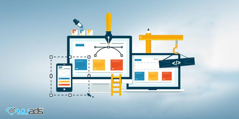 خدمت طراحی سایت آژانس دیجیتال مارکتینگ muads