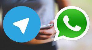 جایگزینی واتس اپ به جای تلگرام