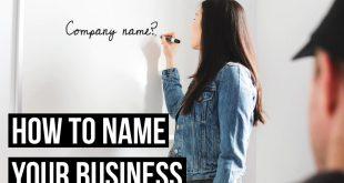 چگونه نام مناسبی برای کسب و کار خود انتخاب کنیم؟