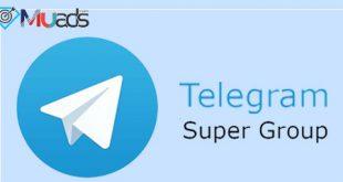 افزایش اعضای سوپر گروه تلگرام